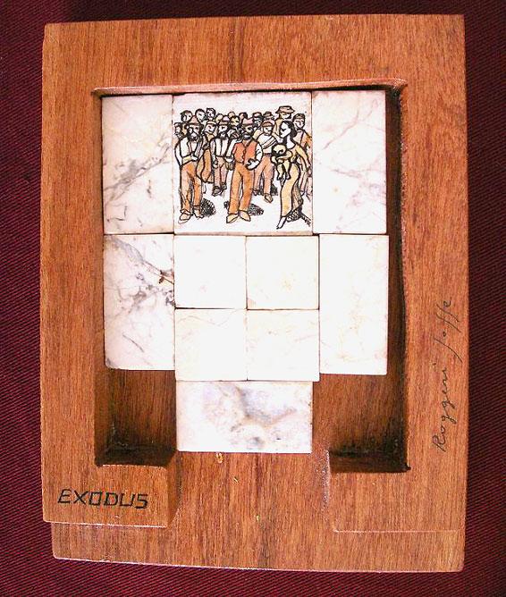 bricks wood puzzle