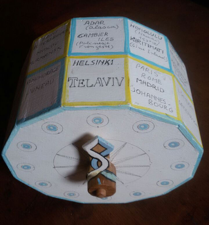 Phileas Fogg clock